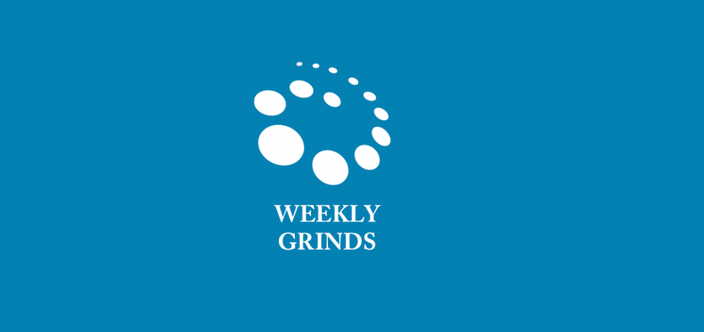 Weekly grinds re-commence this week