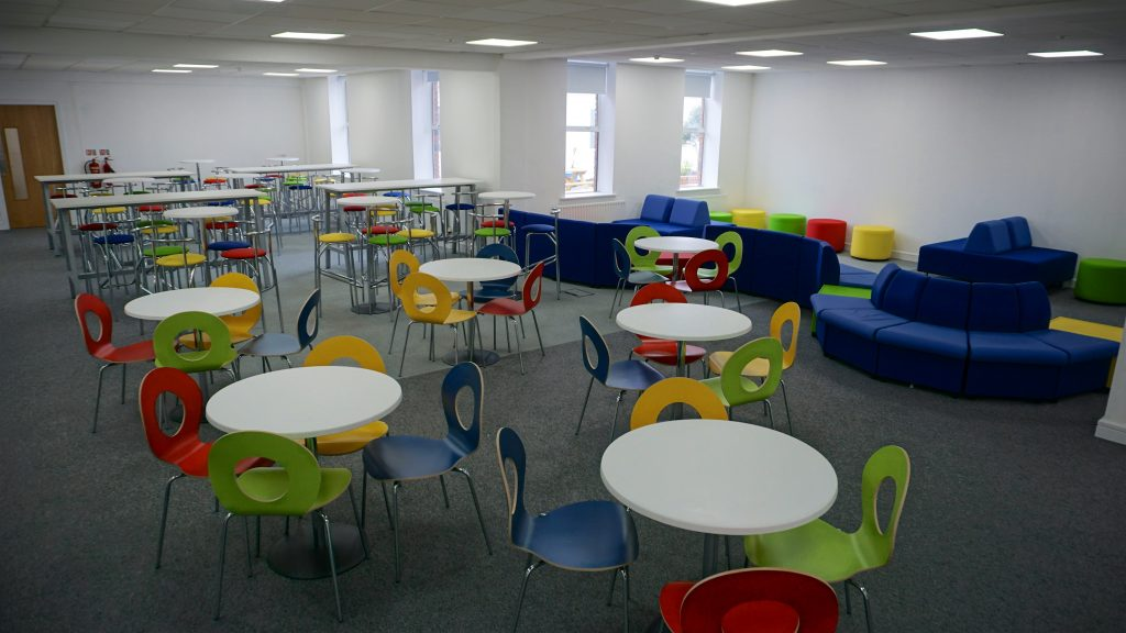 The common area at The Dublin Academy of Education